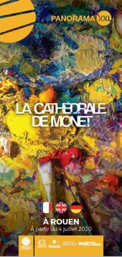 Plaquette trilingue La Cathédrale de Monet