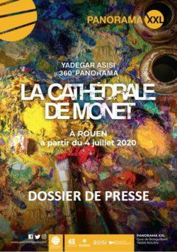 DOSSIER DE PRESSE LA CATHEDRALE DE MONET